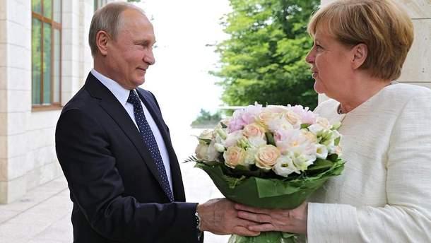 Встреча Путина с Меркель не принесла никаких результатов