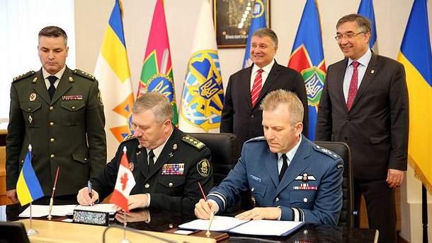 Україна і Канада уклади угоду про військову підготовку