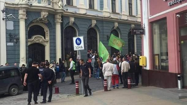 """В Черновцах сорвали """"Фестиваль равенства"""""""