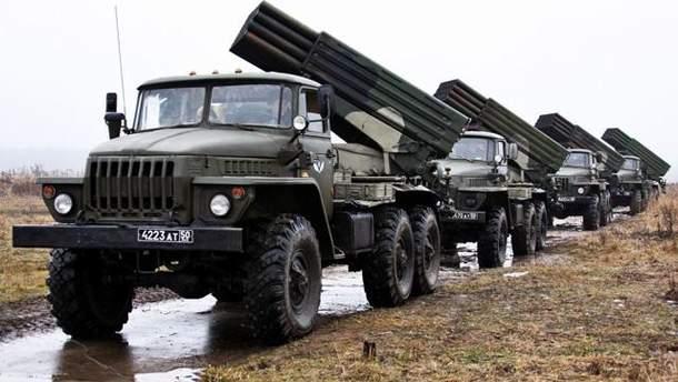 """Росія перекинула на Донбас боєприпаси до """"Градів"""""""