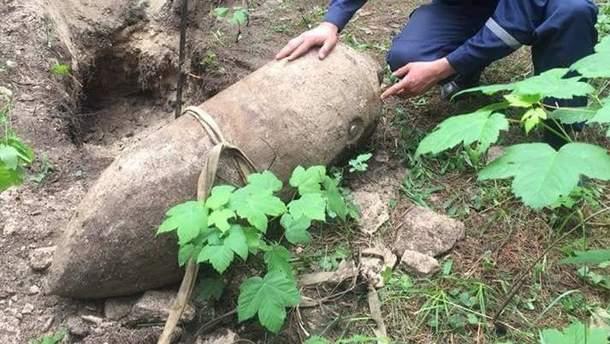 На Рівненщині знайшли німецьку авіаційну бомбу