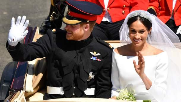 Как выглядит свадебный торт принца Гарри и Меган Маркл