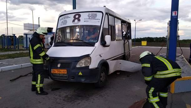 В Кропивницком произошел взрыв на автозаправке