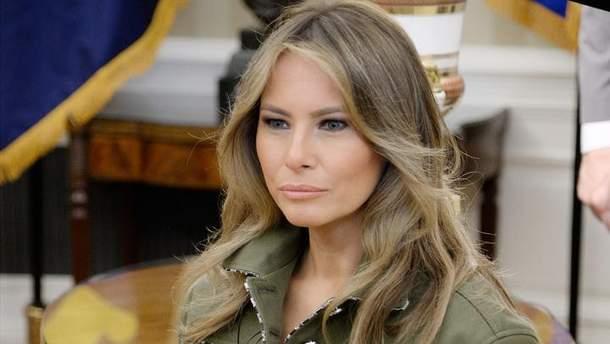 Мелания Трамп вернулась в Белый дом после операции