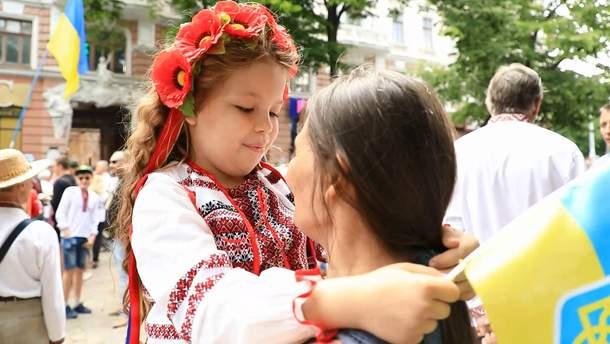 Мегамарш вышиванок в Одессе 2018