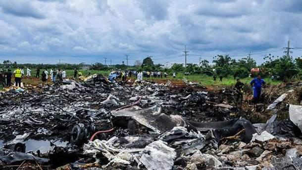 Авіакатастрофа на Кубі: знайдено одну із чорних скриньок