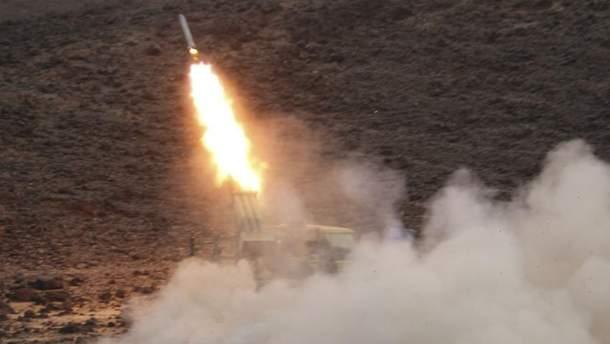 Повстанцы-хуситы с территории Йемена выпустили две баллистические ракеты по Саудовской Аравии (иллюстративное фото)