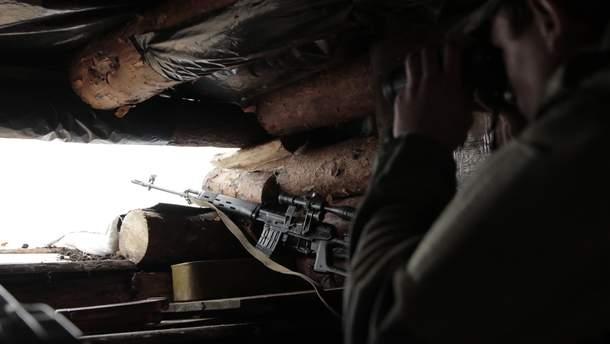 Сержант Владимир Костюк жертвовал своей жизнью, в результате чего была уничтожена снайперская пара боевиков на Донбассе (иллюстративное фото)
