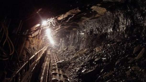 На Львовщине произошел обвал на шахте