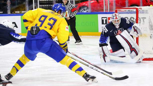Швеція розгромила США у півфіналі ЧС з хокею