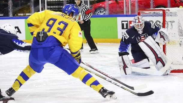 Швеция разгромила США в полуфинале ЧМ по хоккею