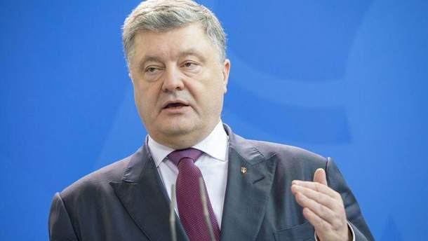 Порошенко рассказал, что предоставления украинской церкви автокефалии ослабит влияние России на внутренние дела