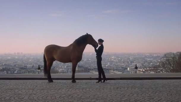 Кендалл Дженнер для Longchamp