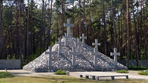 """Меморіальний комплекс """"Биківнянські могили"""""""