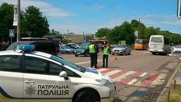 В Борисполе автобус насмерть сбил ребенка, еще один - в больнице