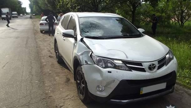 У Чернігові брат депутата-радикала на автомобілі збив дитину