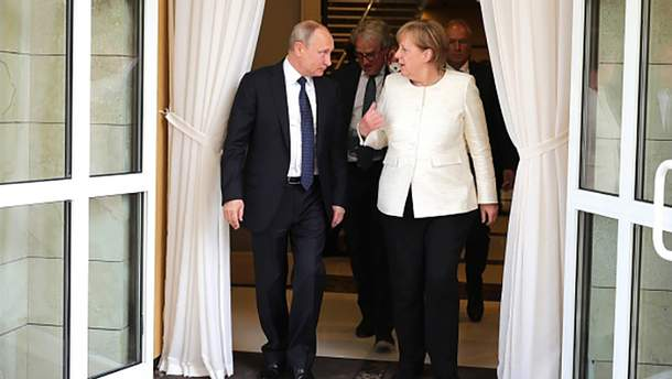 Ангела Меркель у Сочі: як купити Україну?