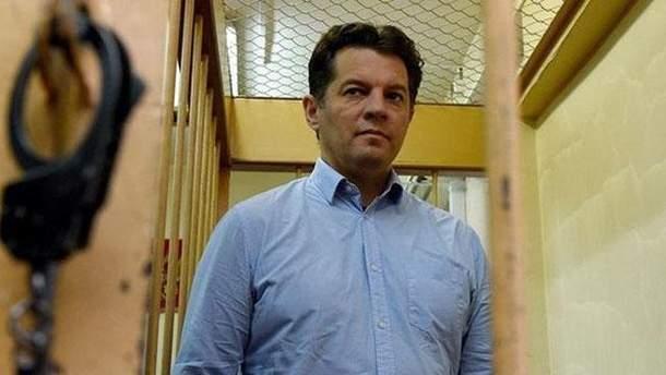 У МЗС РФ заявили, що Сущенко не був журналістом при в'їзді на територію Росії