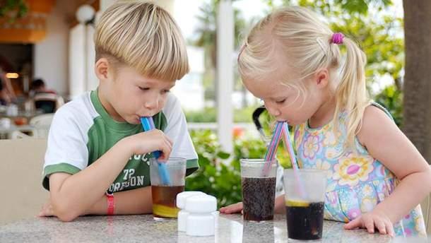 Солодкі напої спричиняють діабет у дітей