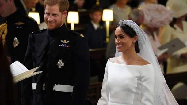 Королівське весілля: принц Гаррі та Меган Маркл