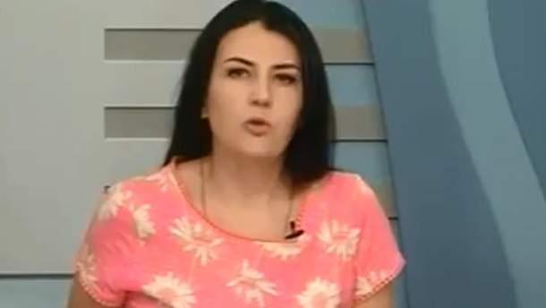 Телеведуча з Миколаєва оконфузилась у прямому ефірі