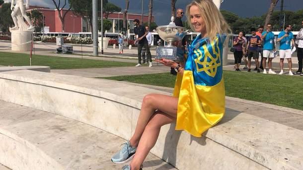 Элина Свитолина победила на турнире в Риме