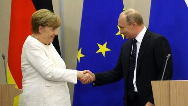 Путін у Сочі дав зрозуміти Меркель, що вирішення конфлікту в Сирії неможливе без Асада
