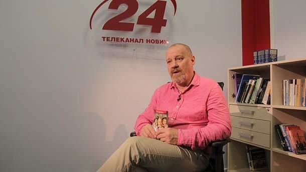 Украинский актер и режиссер Георгий Делиев