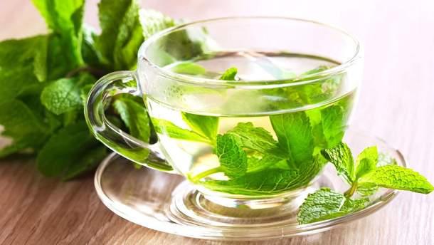 Мятный чай полезен для здоровья