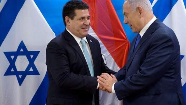Парагвай перенес свое посольство в Иерусалим