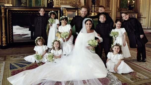 Весілля принца Гаррі і Меган Маркл: оприлюднено перші офіційні фото