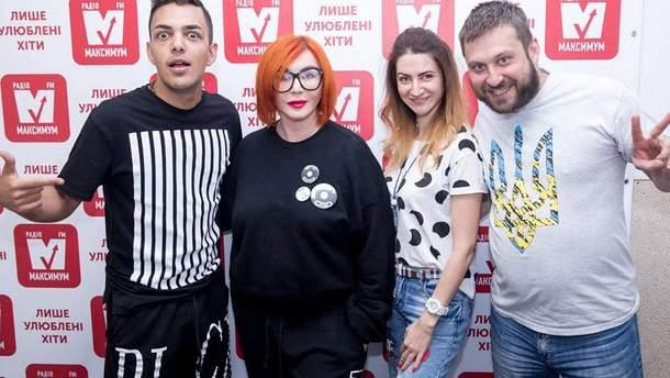 Ирина Билык на радио МАКСИМУМ