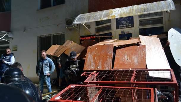 Столкновения в Одессе 21 мая