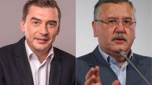 """""""Народний контроль"""" Добродомова та """"Громадянська позиція"""" Гриценка"""