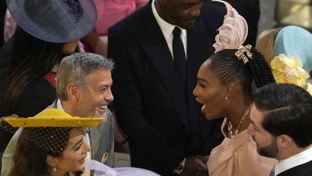 На свадьбе принца Гарри и Меган Маркл было немало звездных гостей