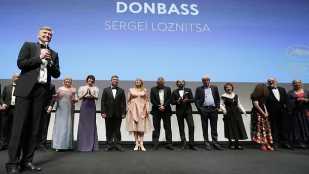 """Российская цензура выбросила со СМИ память о победе украинского фильма """"Донбасс"""" в Каннах"""