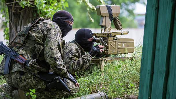 Боевики утверждают, что им удалось ликвидировать около 10 украинских воинов