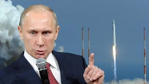 Розхвалені ядерні ракети Путіна провалили всі випробування