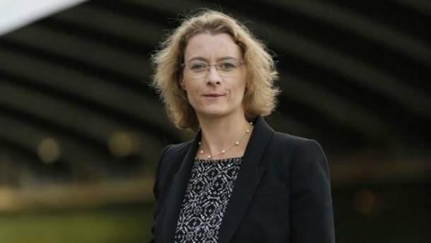 Посол Франції Ізабель Дюмон