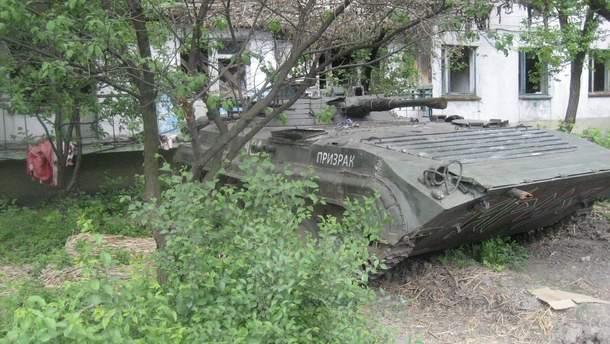 Де бойовики ховають свої танки