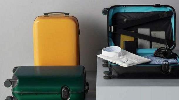 Xiaomi представила валізу, що відмикається за відбитком пальців