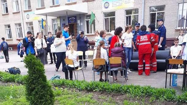 В школе Харькова распылили перцовый баллончик