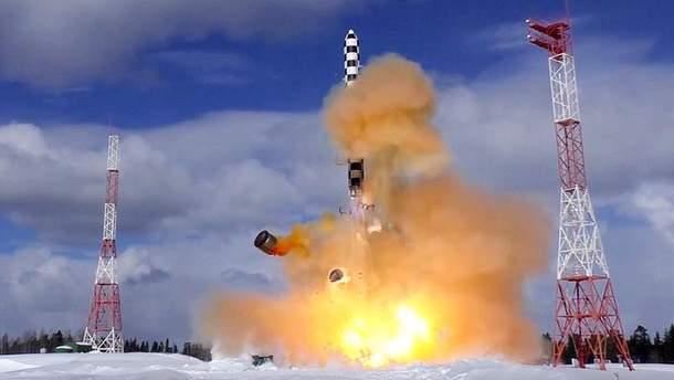 У Росії прокоментували інйормацію про провал випробувань ракет Путіна