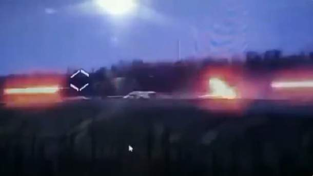На Донбассе уничтожен опорный пункт врага