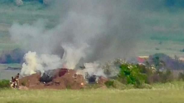 На Донбасі знищили передову позицію окупантів