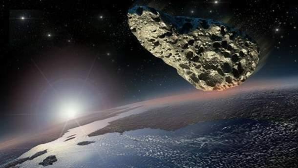 Виявили астероїд, що залетів міжзоряного простору у Сонячну систему