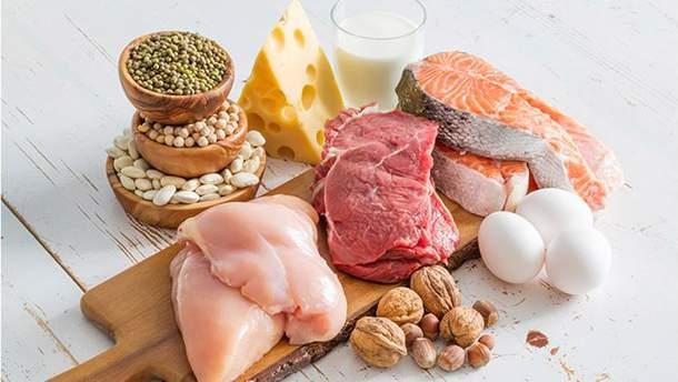 Які продукти містять білок