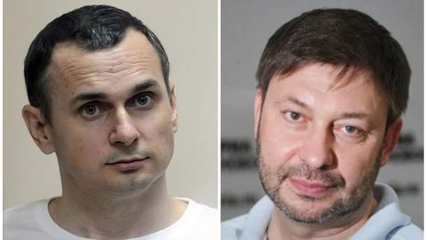 Песков прокомментировал возможный обмен Сенцова на Вышинского