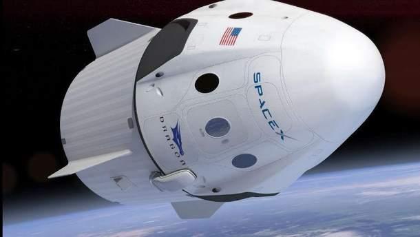 Космический корабль Crew Dragon