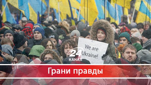Почему после Майдана, котрый сплотил всех, украинцы отказываються от доверия
